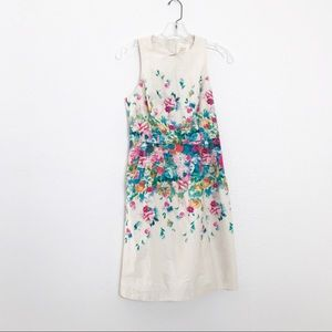 Anthropologie Maeve Floral Shift Dress Size 2